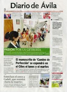 Diario de Ávila 25 de agosto de 2011: Pasión por la cetrería (Mingorría)