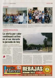 Diario de Ávila 21 de agosto de 2012: Nociones de Cetrería (Morana)
