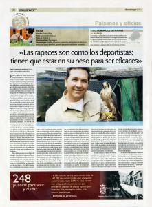 Diario de Ávila 12 de mayo de 2013: Paisanos y Oficios (Santo Domingo de las Posadas)